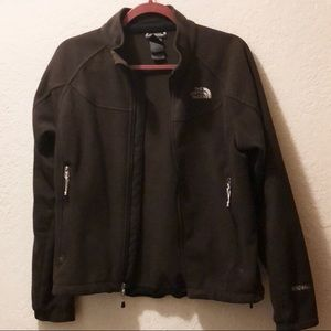 The North Face Brown Windwall Jacket